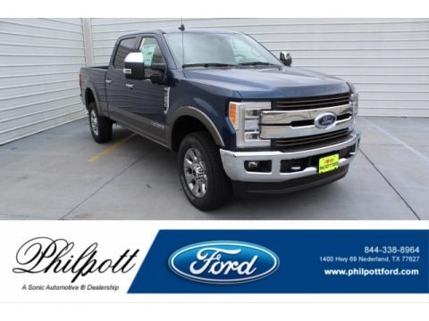 Blue Jeans 2019 Ford F250 Super Duty King Ranch Crew Cab 4x4