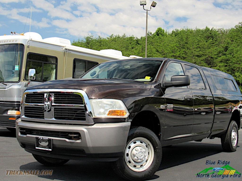 2011 Ram 2500 HD ST Crew Cab 4x4 - Rugged Brown Pearl / Dark Slate/Medium Graystone photo #1