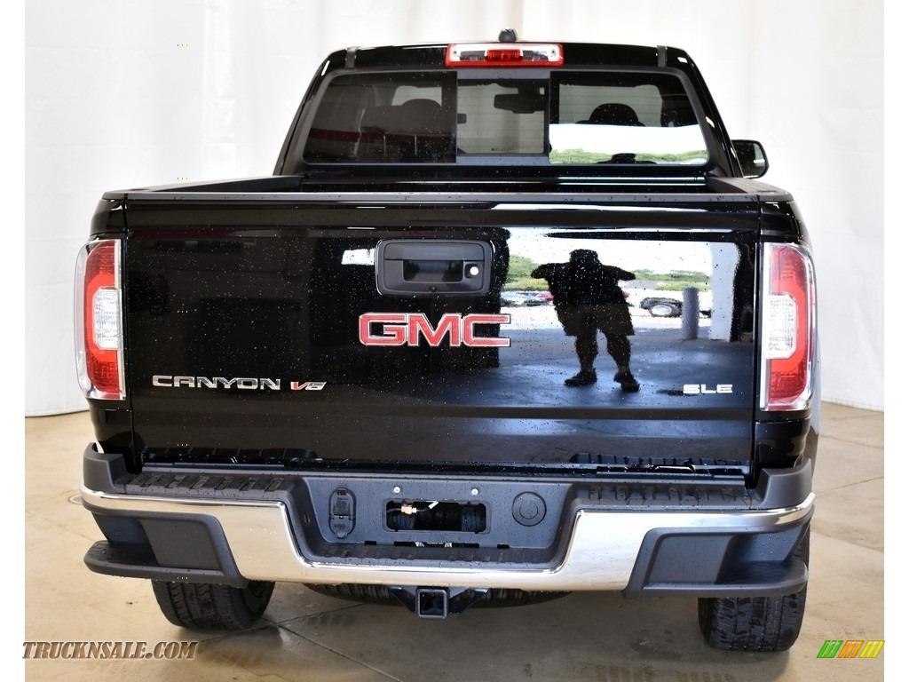 2019 Canyon SLE Extended Cab 4WD - Onyx Black / Jet Black photo #3