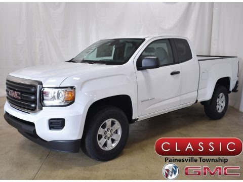 Summit White 2019 GMC Canyon Extended Cab