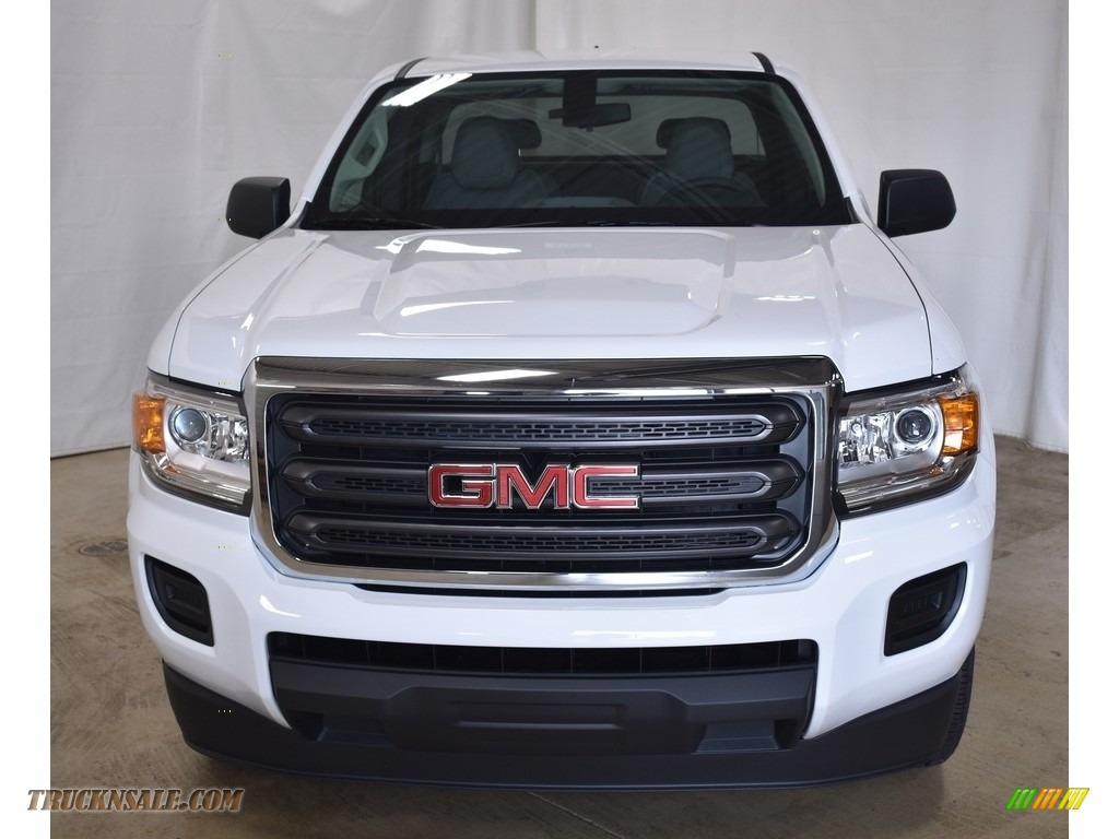 2019 Canyon Extended Cab - Summit White / Jet Black/­Dark Ash photo #4