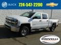 Chevrolet Silverado 2500HD WT Crew Cab 4x4 Summit White photo #1