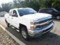 Chevrolet Silverado 2500HD WT Crew Cab 4x4 Summit White photo #9