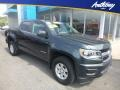 Chevrolet Colorado WT Crew Cab 4x4 Cyber Gray Metallic photo #1