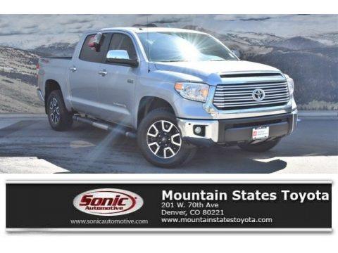 Silver Sky Metallic 2016 Toyota Tundra Limited CrewMax 4x4