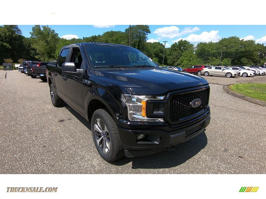 Agate Black / Earth Gray Ford F150 XL SuperCrew 4x4
