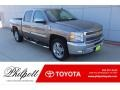 Chevrolet Silverado 1500 LT Crew Cab Graystone Metallic photo #1