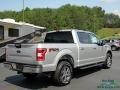 Ford F150 XLT SuperCrew 4x4 Ingot Silver photo #5