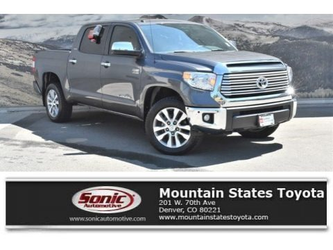 Magnetic Gray Metallic 2016 Toyota Tundra Limited CrewMax 4x4