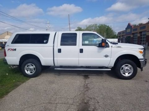 Oxford White 2014 Ford F350 Super Duty XLT Crew Cab 4x4
