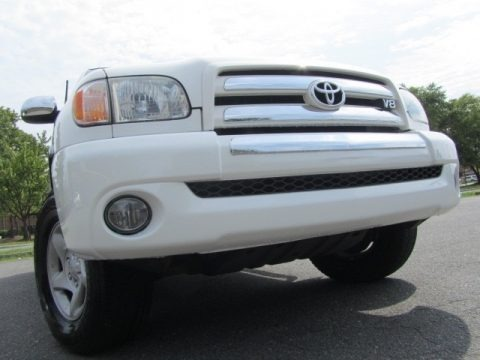 Natural White 2004 Toyota Tundra SR5 Access Cab 4x4