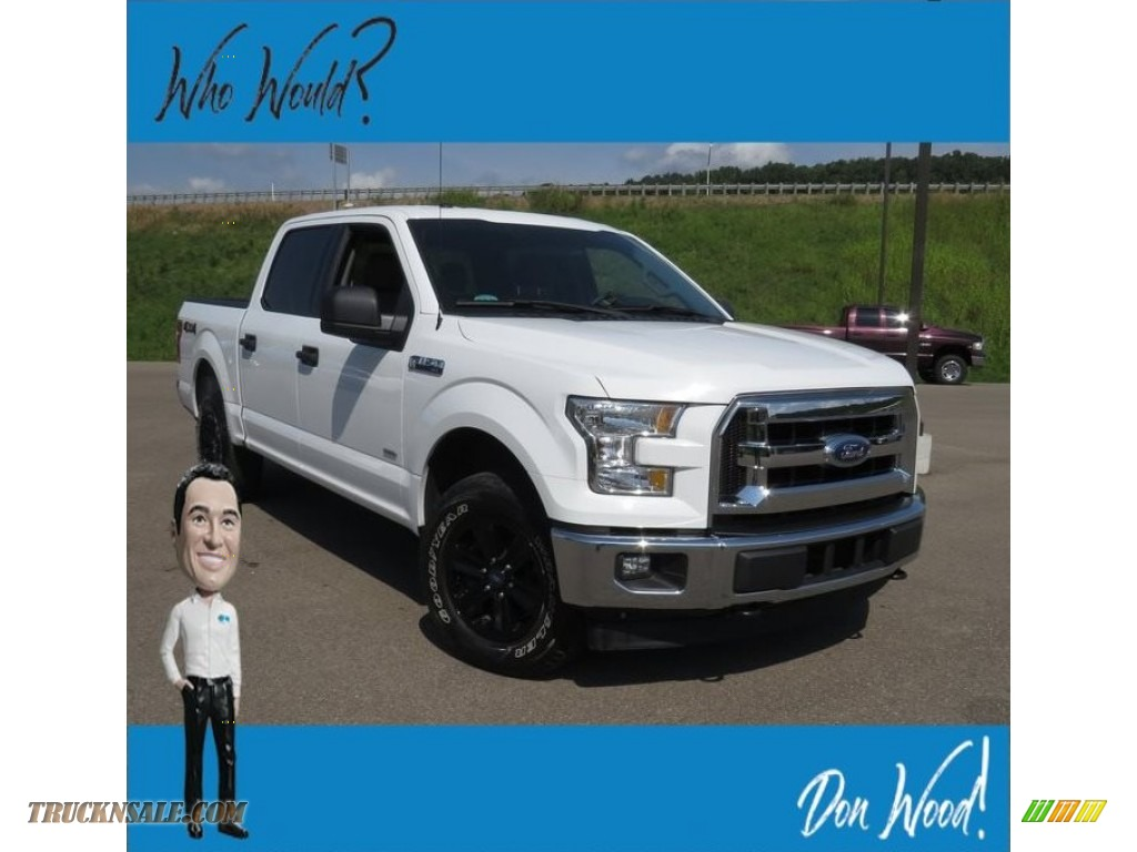 Oxford White / Earth Gray Ford F150 XLT SuperCrew 4x4