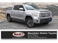 Toyota Tundra Limited CrewMax 4x4 Silver Sky Metallic photo #1