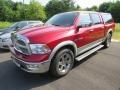 Dodge Ram 1500 Laramie Crew Cab 4x4 Inferno Red Crystal Pearl photo #2