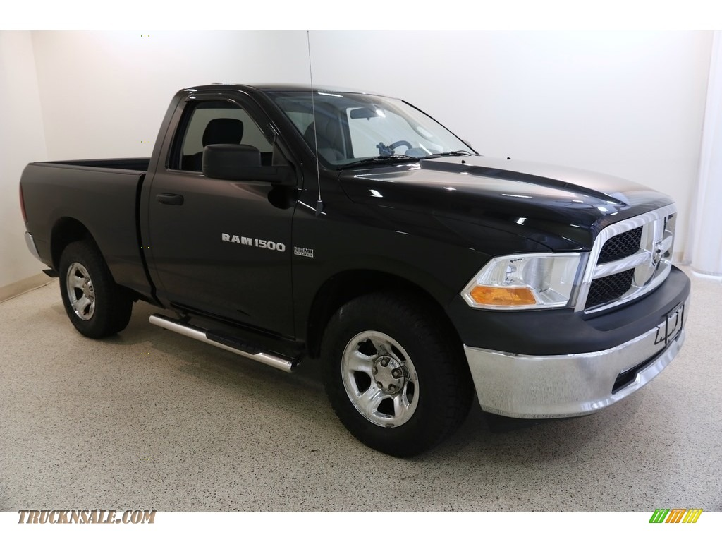 Black / Dark Slate Gray/Medium Graystone Dodge Ram 1500 Express Regular Cab 4x4