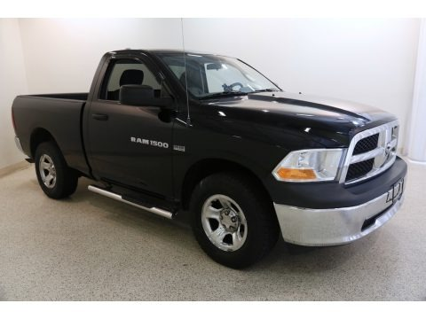 Black 2012 Dodge Ram 1500 Express Regular Cab 4x4