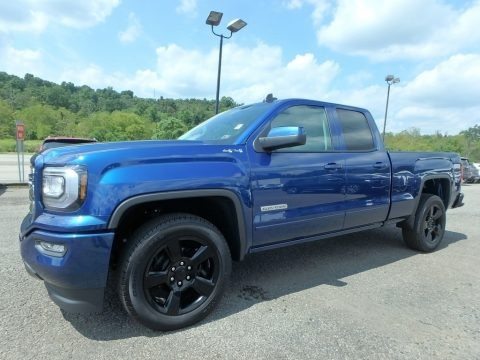 Stone Blue Metallic 2019 GMC Sierra 1500 Limited Double Cab 4WD