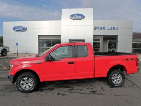 Race Red 2019 Ford F150 XL SuperCab 4x4