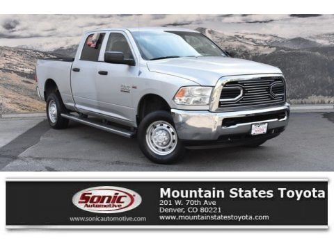 Bright Silver Metallic 2012 Dodge Ram 2500 HD ST Crew Cab 4x4