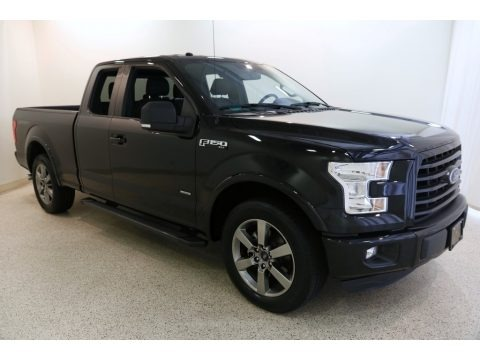 Shadow Black 2016 Ford F150 XLT SuperCab