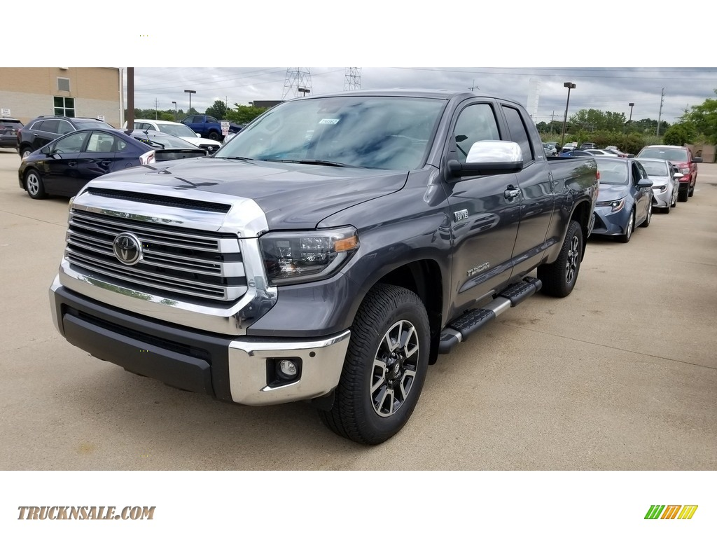 2020 Tundra Limited Double Cab 4x4 - Magnetic Gray Metallic / Graphite photo #1