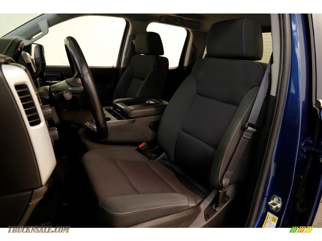 2016 Sierra 1500 SLE Double Cab 4WD - Stone Blue Metallic / Jet Black photo #5