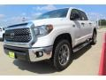 Toyota Tundra SR5 CrewMax 4x4 Super White photo #4