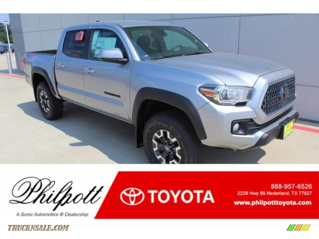 2019 Tacoma TRD Off-Road Double Cab 4x4 - Silver Sky Metallic / TRD Graphite photo #1