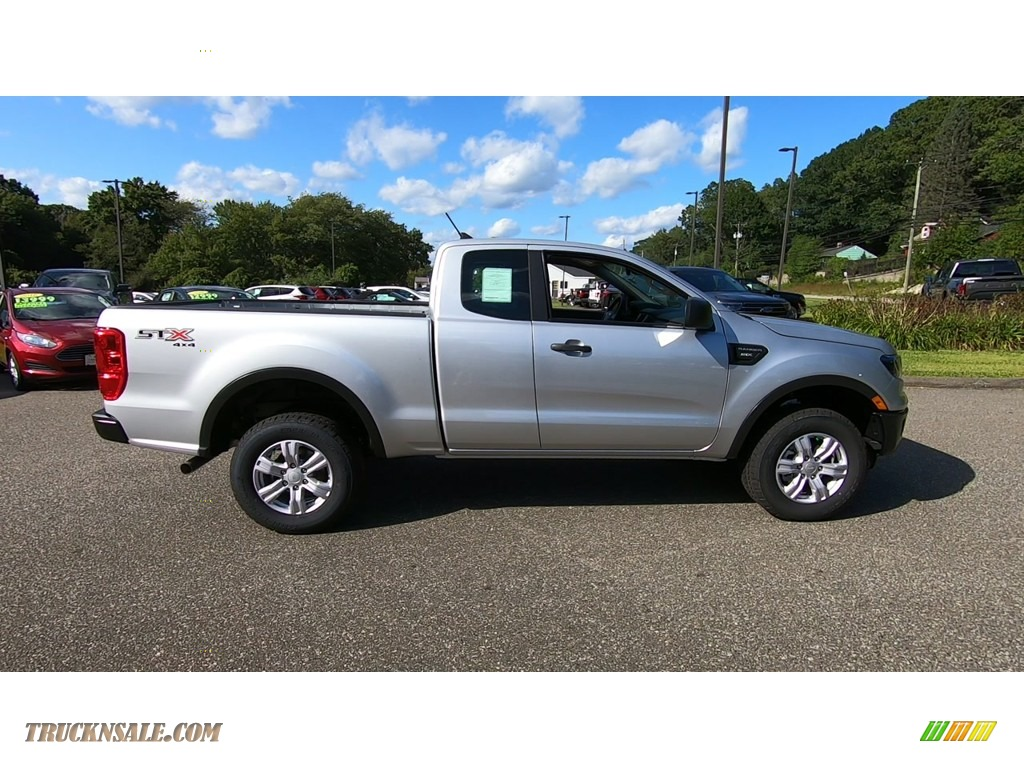 2019 Ranger STX SuperCab 4x4 - Ingot Silver Metallic / Ebony photo #8