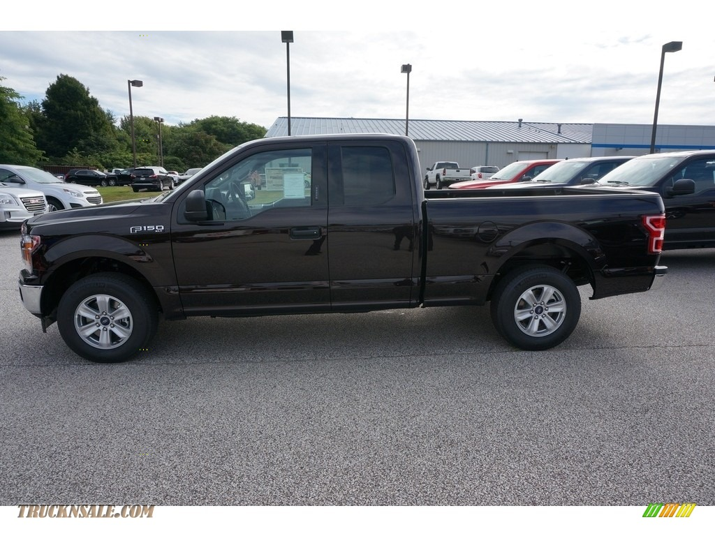 2019 F150 XLT SuperCab - Magma Red / Earth Gray photo #2