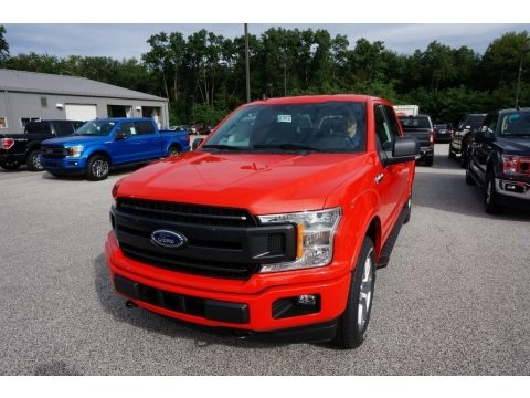 Race Red 2019 Ford F150 XLT SuperCrew 4x4