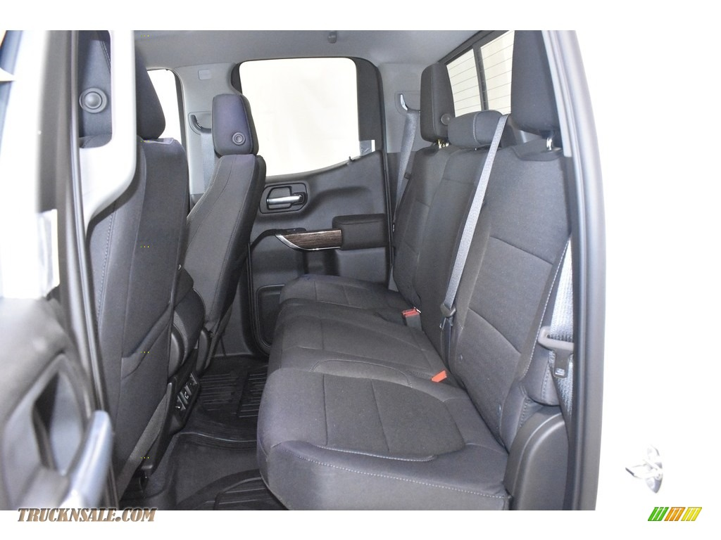 2019 Sierra 1500 SLE Double Cab 4WD - Summit White / Jet Black photo #7