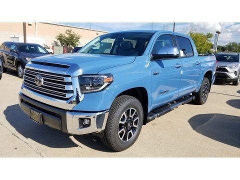Cavalry Blue 2020 Toyota Tundra Limited CrewMax 4x4