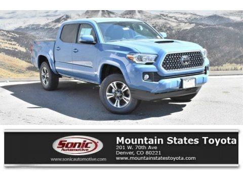 Cavalry Blue 2019 Toyota Tacoma TRD Sport Double Cab 4x4