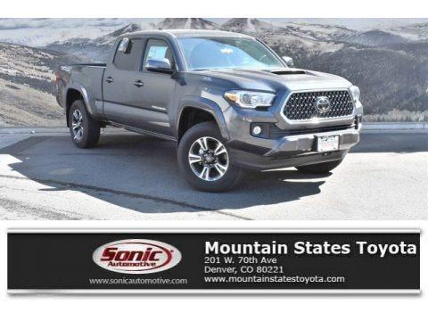 Magnetic Gray Metallic 2019 Toyota Tacoma TRD Sport Double Cab 4x4