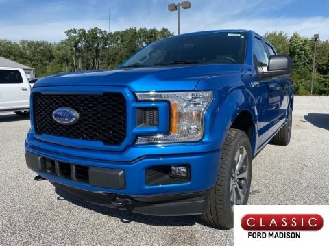 Velocity Blue 2019 Ford F150 STX SuperCrew 4x4