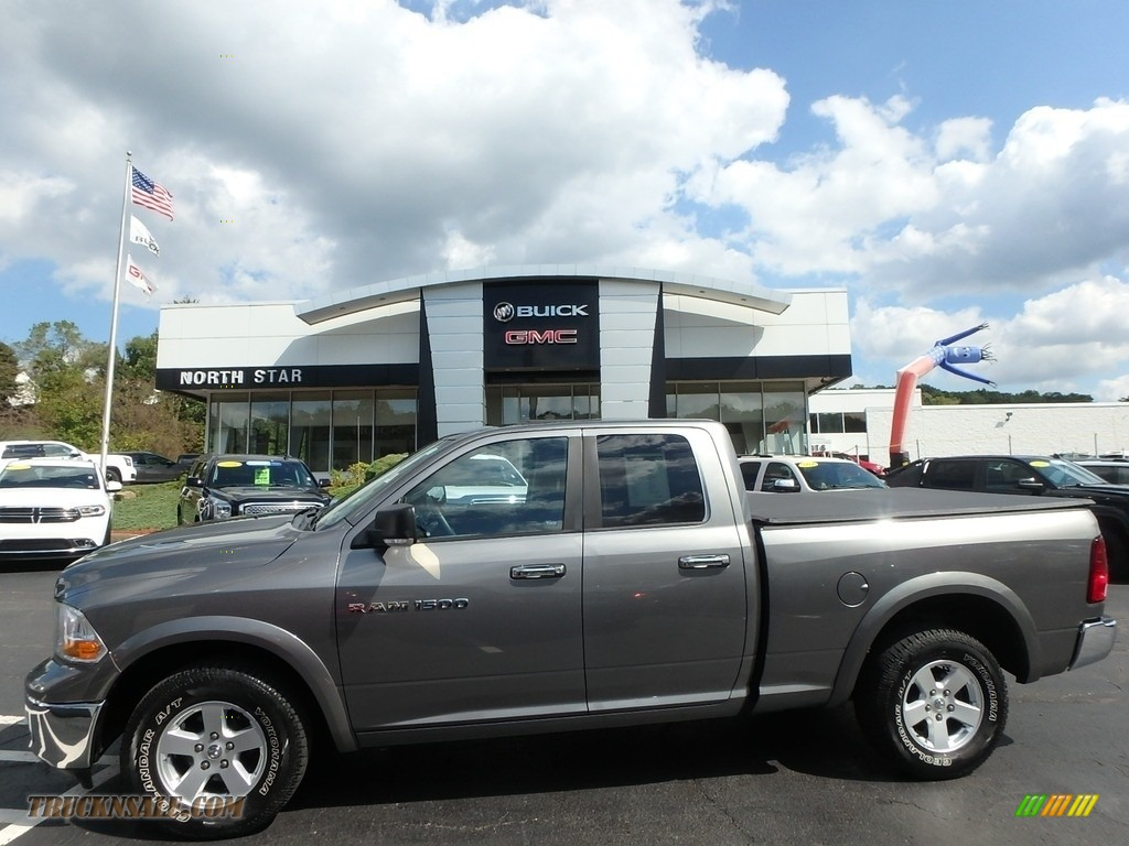 2011 Ram 1500 SLT Quad Cab 4x4 - Mineral Gray Metallic / Dark Slate Gray/Medium Graystone photo #1