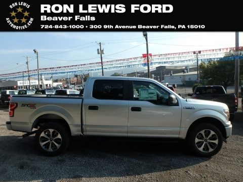 Ingot Silver 2019 Ford F150 STX SuperCrew 4x4