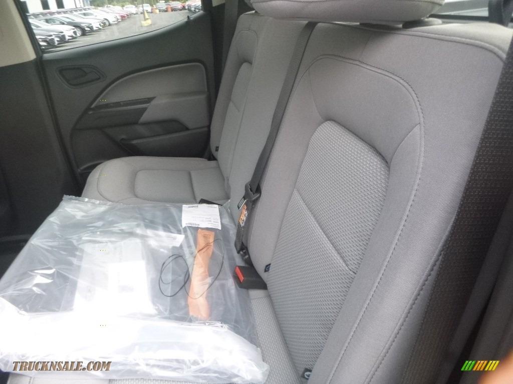 2020 Colorado WT Crew Cab 4x4 - Silver Ice Metallic / Ash Gray/Jet Black photo #12