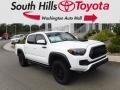 Toyota Tacoma TRD Pro Double Cab 4x4 Super White photo #1
