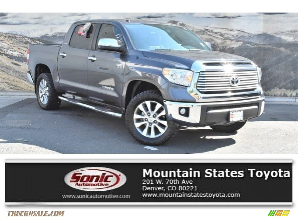 2016 Tundra Limited CrewMax 4x4 - Magnetic Gray Metallic / Graphite photo #1