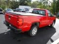 Chevrolet Silverado 1500 WT Regular Cab 4x4 Victory Red photo #8