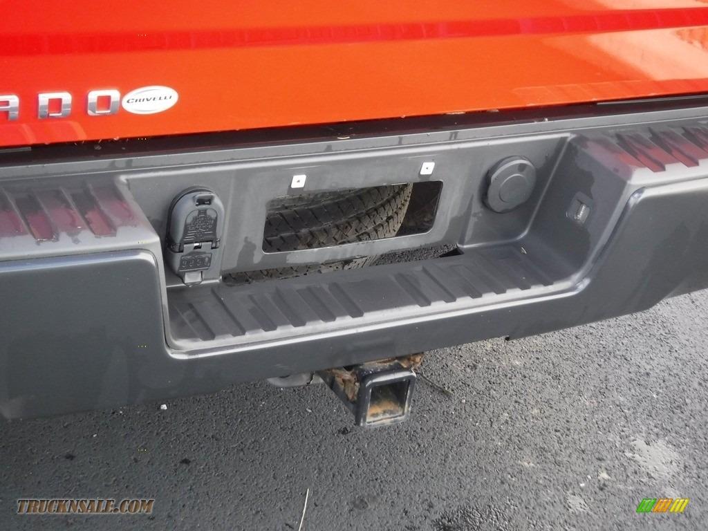 2015 Silverado 1500 WT Regular Cab 4x4 - Victory Red / Dark Ash/Jet Black photo #10