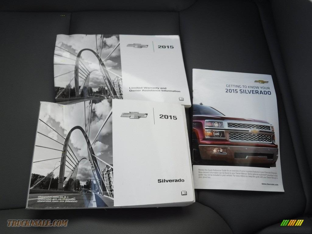 2015 Silverado 1500 WT Regular Cab 4x4 - Victory Red / Dark Ash/Jet Black photo #23