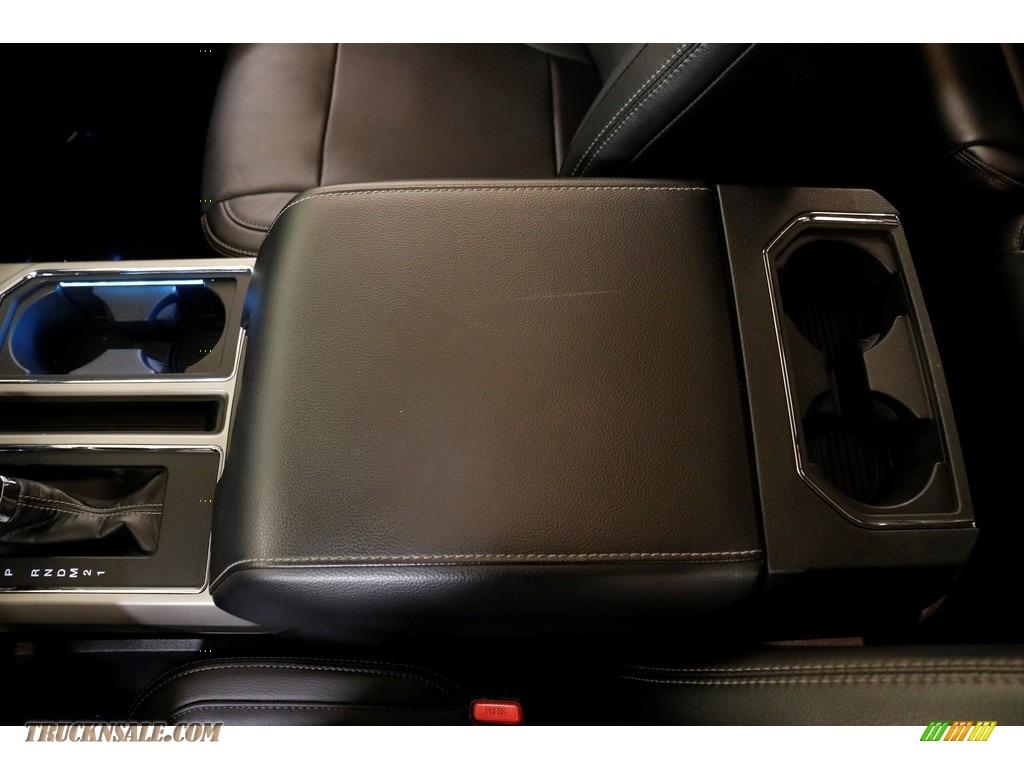 2016 F150 Lariat SuperCab 4x4 - White Platinum / Black photo #20
