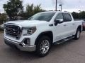 GMC Sierra 1500 SLT Crew Cab 4WD Summit White photo #5