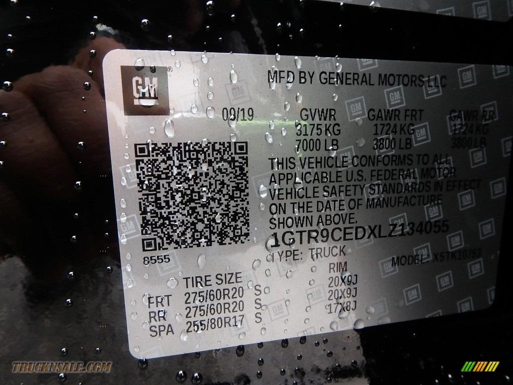 2020 Sierra 1500 Elevation Double Cab 4WD - Onyx Black / Jet Black photo #13