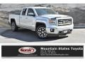 GMC Sierra 1500 SLT Double Cab 4x4 Quicksilver Metallic photo #1
