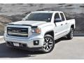 GMC Sierra 1500 SLT Double Cab 4x4 Quicksilver Metallic photo #5
