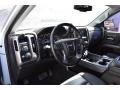 GMC Sierra 1500 SLT Double Cab 4x4 Quicksilver Metallic photo #10